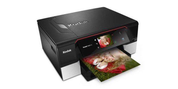 Druckt mit und ohne Treiber: Multifunktionsgerät Kodak Hero 7.1