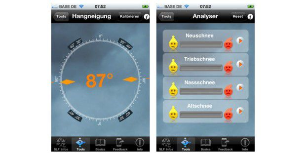 01 White Risk Hang Analyser iPhone