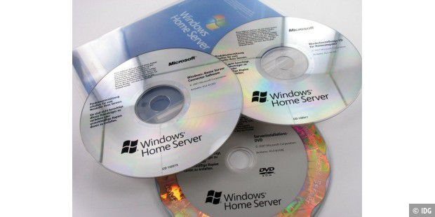 Windows Home Server CDs