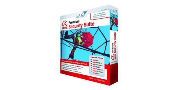 Avira Security Suite Premium kostet knappe 40 Euro.
