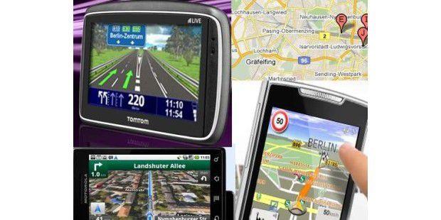 Können Smartphone-Apps wirklich alles, was klassische Navigationsgeräte auch können? Wir zeigen die Unterschiede.