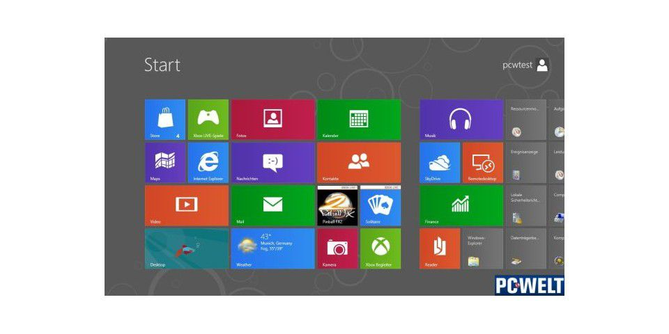 Windows 8 Consumer Preview - Bild 01