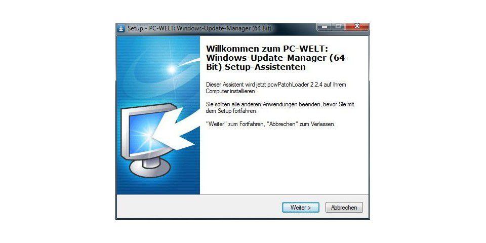 Schritt 1: PC-WELT Update-Manager installieren
