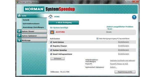 Norman System Speedup 1.2