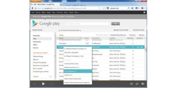 Google Music: kostenlose Musik-Cloud
