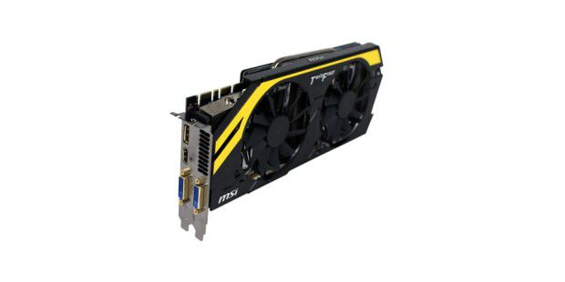 Platz 7: MSI Geforce GTX 680 Lightning