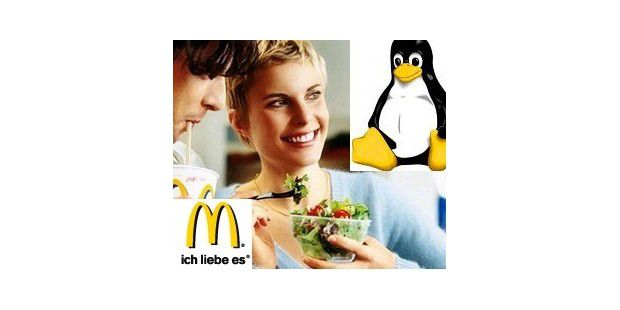 Linux-Server für McDonalds-Filialen