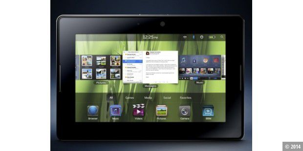 Blackberry-Tablet PlayBook kommt Anfang 2011