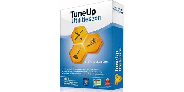 Das Hauptfenster der Tune Up Utilities 2010