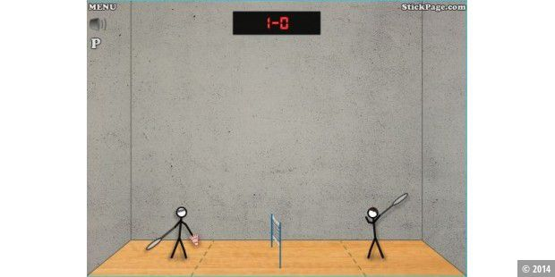 Stick-Badminton