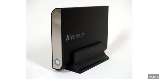 Verbatim Quad-Interface: externe Festplatte
