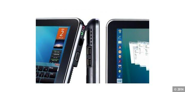 Tablet-PC mit 3G, GPS und Windows 7