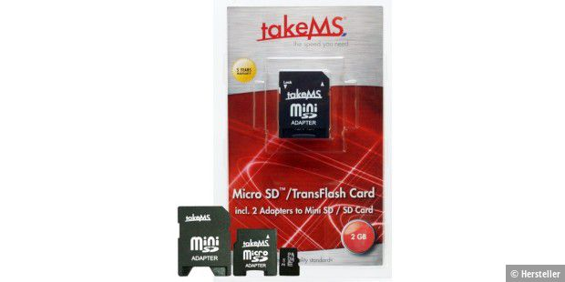 takeMS Micro SD Card 3in1 Solution