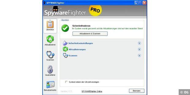 SPYWAREfighter 1.9.0 von SPAMfighter