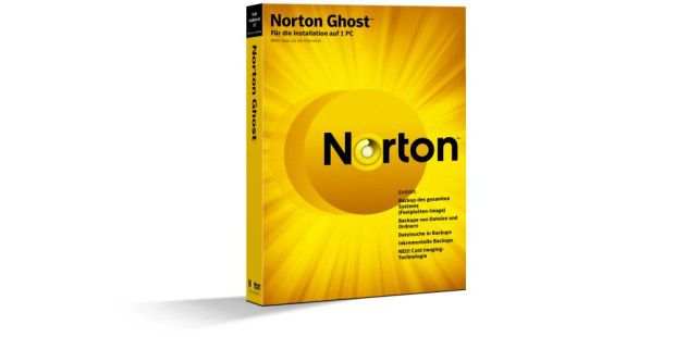 Neu: Norton Ghost 15.0