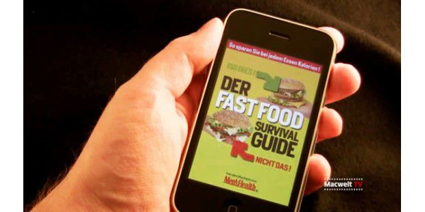 "iPhone-App ""Fastfood Survival Guide"" vorgestellt"