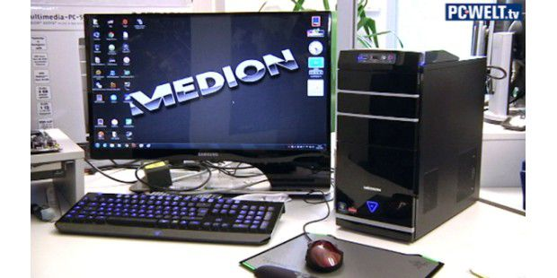 Aldi-PC Medion Akoya P4210D im Test-Video
