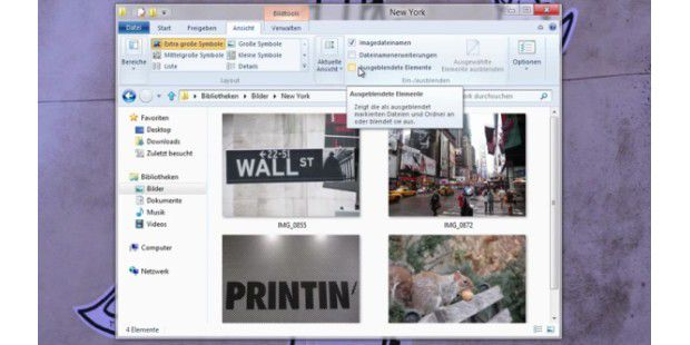 Windows-Explorer von Windows 8 im Video vorgestellt