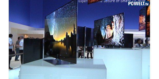 Samsungs TV-Highlights der IFA 2012: Google-TV-, OLED- und 4K-Fernseher
