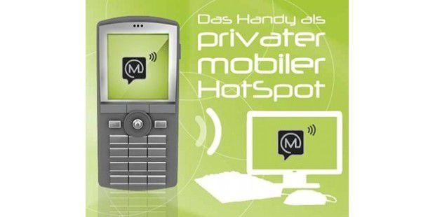 Mospot: Noch eine Software macht Handy zum mobilen WLAN-Router