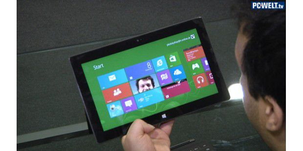 Microsoft Surface RT - Unboxing im Video