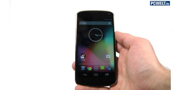 Google Nexus 4 im Test-Video