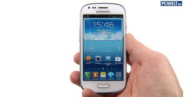 Samsung Galaxy S3 Mini im Test-Video