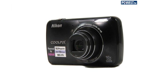 Nikon Coolpix S800c im Test-Video