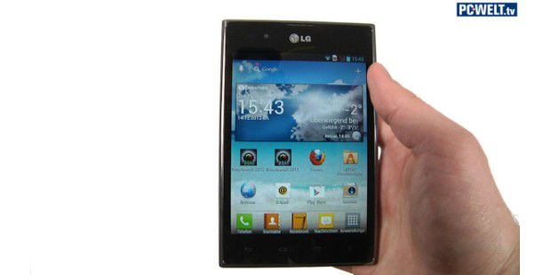 LG Optimus Vu im Test-Video
