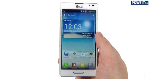 LG Optimus L9 im Test-Video
