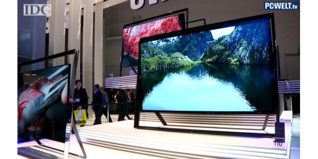 Video: 4K- & OLED-TVs von Samsung, Sony & LG