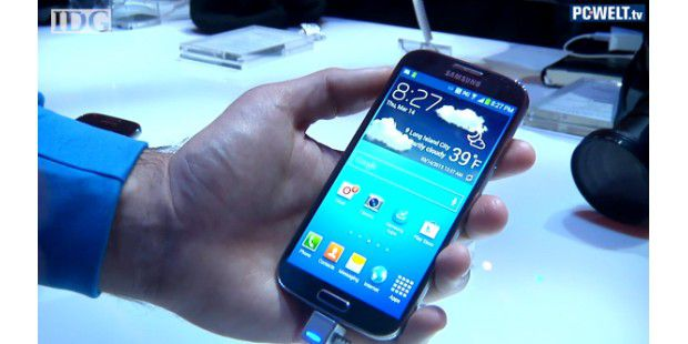 Video: Galaxy S4 vorgestellt & Hands-on