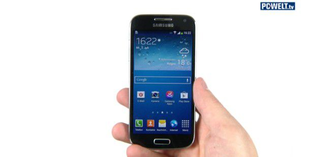 Samsung Galaxy S4 Mini im Test-Video