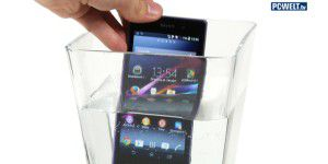 Wasserdicht: Sony Xperia Z1 im Test-Video