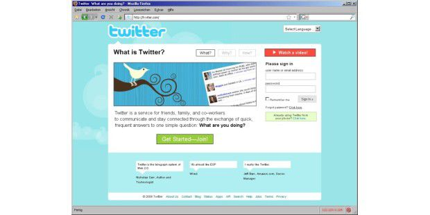 Twitter Phishing-Site