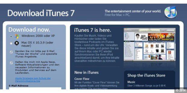 Itunes 7 Steht Zum Download Bereit Pc Welt