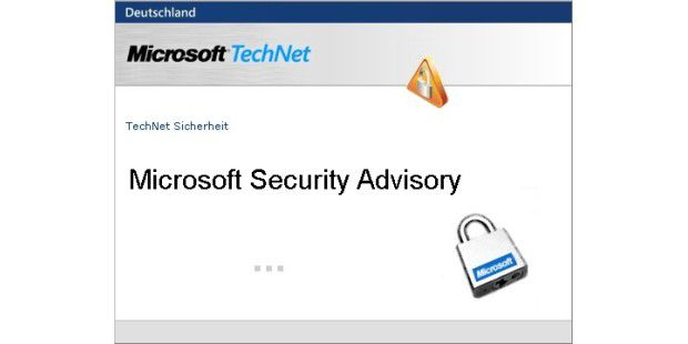 Microsoft Security Advisory