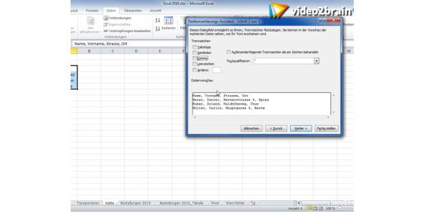 Video-Tipp: Textkonvertierung in Excel