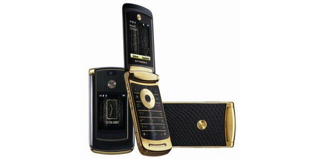 Motorola MOTORAZR V8 Luxury Edition