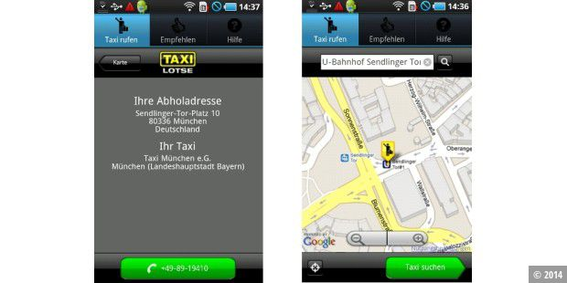 Android-App des Tages