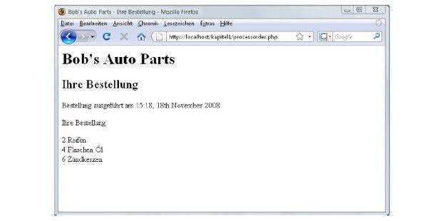 So greifen Sie mit PHP auf Formularvariablen zu