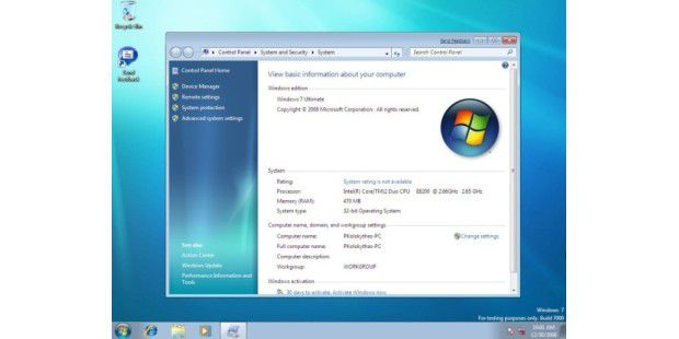 Fragen & Antworten zum Windows-7-Beta-Start