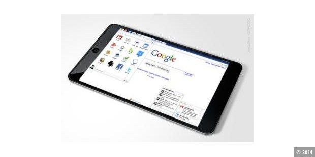 Google entwickelt iSlate-Killer: Touchscreen-Tablet mit Chrome OS oder Android