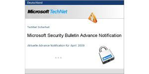 Microsoft kündigt acht Security Bulletins an