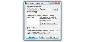 ICQ Ignore Checker