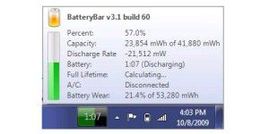 BatteryBar Free 3.5.2.1