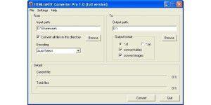 HTML to RTF Converter Pro 1.1