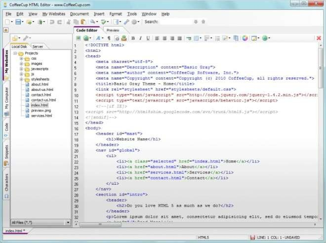 CoffeeCup HTML Editor - PC-WELT