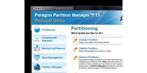 Paragon Partition Manager Personal
