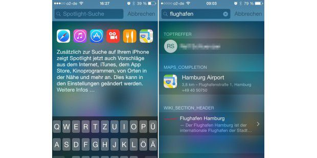 Das neue Spotlight in Aktion.
